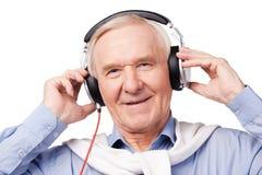 Musik während alles Alters Lizenzfreie Stockfotos