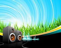 Musikabbildung mit Lautsprechern