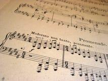 musikal för bakgrundsmapp arkivfoto