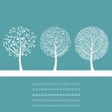 Musikal tree8 Arkivfoto