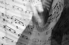 Musikalisch Stockfoto