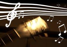 Musikalisch Lizenzfreie Stockbilder