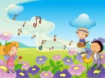 Musikalisch vektor abbildung