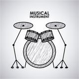 musikalisch stock abbildung