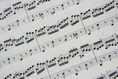 Musikalische Anmerkungen Lizenzfreie Stockfotografie
