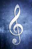 Musikalische Anmerkungen: Reihe 1 von 3 Stockfotografie