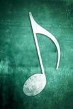 Musikalische Anmerkungen: Reihe 2 von 3 Stockbild