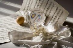 Musikalische Beleuchtung Stockbilder