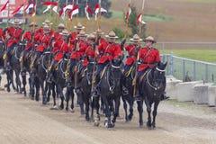 Musikalische Fahrt RCMP in Ancaster, Ontario Lizenzfreie Stockfotografie