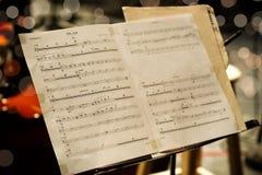 Musikalische Kerbe lizenzfreie stockbilder