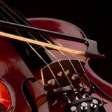 Musikalische Zeichenketten Lizenzfreie Stockfotos