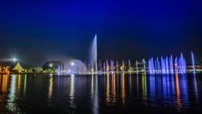 Musikalischer Brunnen Stockfoto