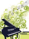 Musikalischer Hintergrund Lizenzfreie Stockfotos