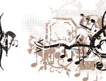 Musikalischer Hintergrund stock abbildung