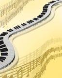 Musikalischer Hintergrund Lizenzfreies Stockbild
