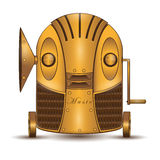Musikalischer Roboter Lizenzfreies Stockfoto