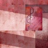 Moderne Musik des Hintergrundes Lizenzfreie Stockbilder