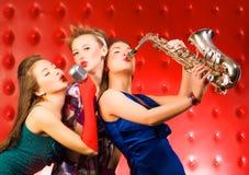 Musikalisches Band Stockfoto