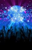 Musikalisches Hintergrundblau, ENV 10 Lizenzfreies Stockbild