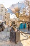Musikalisches Monument in Burgas, Bulgarien Stockfoto