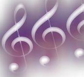 Musikalisches Motiv. Lizenzfreie Stockfotos