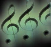 Musikalisches Motiv. stock abbildung