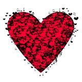 Musikalisk hjärta för dag för valentin` s Arkivfoton