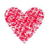Musikalisk hjärta för dag för valentin` s Royaltyfri Fotografi