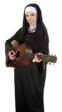 musikalisk nunna Royaltyfri Fotografi