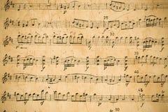 musikalisk ställning Arkivbilder