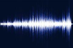 Musikalisk utjämnare Solid våg Radiofrequence också vektor för coreldrawillustration royaltyfri illustrationer