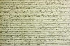 musikaliska anmärkningar Arkivbilder