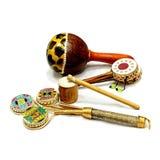 musikaliska indiska instrument Royaltyfri Bild