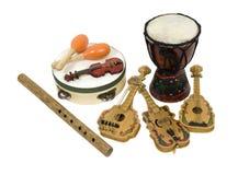 musikaliska instrument Royaltyfri Bild