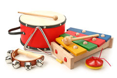 musikaliska instrument Royaltyfri Foto