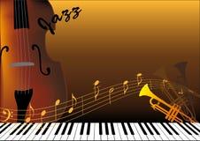 musikaliska instrument Arkivbild