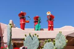 Musikaliska nya mexikaner Arkivfoto