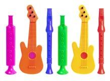 Musikaliska Toys Fotografering för Bildbyråer