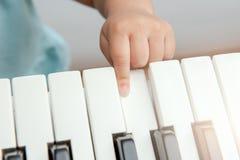 Musikaliskt tangentbord Royaltyfri Fotografi