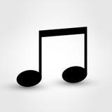 Musikanmärkning Royaltyfri Bild