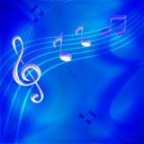 Musikanmerkungen Lizenzfreie Stockbilder