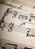 musikark Royaltyfri Bild