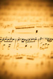 musikark Royaltyfria Bilder
