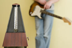 Musikausrüstung Lizenzfreie Stockbilder