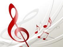Musikbakgrund Vektor Illustrationer