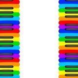 Musikbakgrund med pianotangenter vektor Arkivbild