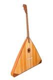 Musikbass-Instrumentbalalaika Stockfotografie