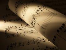 Musikblätter Lizenzfreie Stockbilder