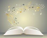 Musikbok stock illustrationer