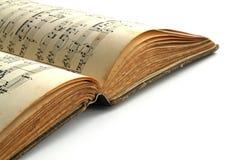 Musikbuch lizenzfreie stockbilder
